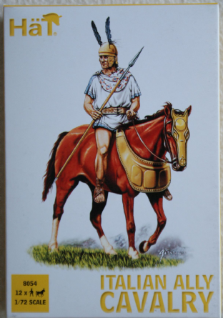 HaT 1/72 HAT8054 Italian Allied Cavalry (Ancients)